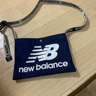 ニューバランス(New Balance)のニューバランス サコッシュ ネイビー(ショルダーバッグ)