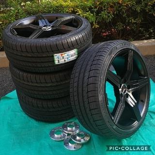 ベンチ(Bench)の新品 タイヤホイール4本セット ベンツ Sクラス CL SクーペW221 W21(タイヤ・ホイールセット)