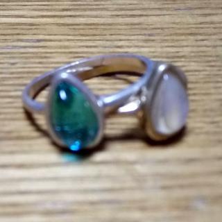 アネモネ(Ane Mone)のアネモネ リング Anemone 指輪 2つセット(リング(指輪))