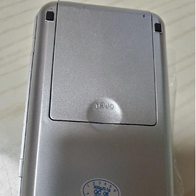 新商品袋入りフリマに便利~デジタル計り0.1g単位便利な500gまで精密計量可能 インテリア/住まい/日用品のキッチン/食器(その他)の商品写真