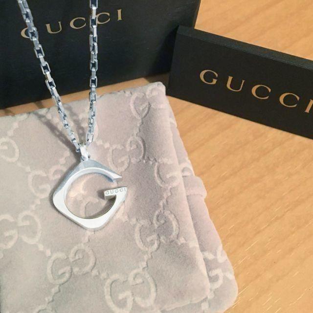 Gucci - ☆新品☆未使用☆Gucci グッチ スクエアGネックレスの通販 by mimi's shop