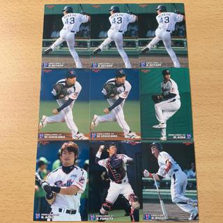 トウキョウヤクルトスワローズ(東京ヤクルトスワローズ)の東京ヤクルトスワローズ2007年プロ野球チップスカード6種9枚セット(スポーツ選手)