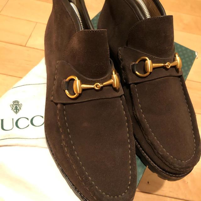 カルティエ コピー 正�� - Gucci - GUCCI 茶スエード �ャッカブーツ 40E�通販 by jamesbond007_'s shop