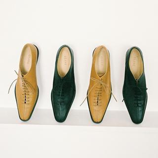 エンフォルド(ENFOLD)のclane  クラネ レースアップシューズ 完売品(ローファー/革靴)