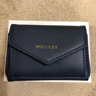 マウジー(moussy)のmoussy 三つ折り財布(財布)