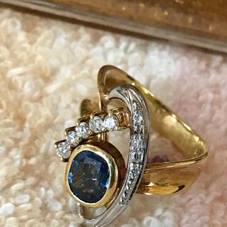 オーダー品 金18&プラチナ✨ダイヤモンド指輪(リング(指輪))