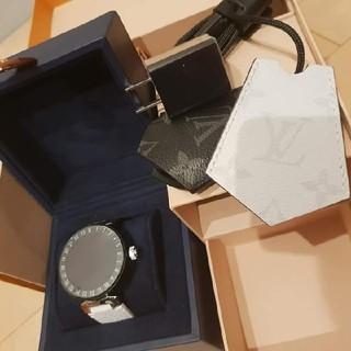 ルイヴィトン(LOUIS VUITTON)の★完売限定希少 ルイヴィトンタンブールホライゾンV2マットブラック(腕時計(デジタル))