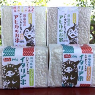 アヒルのお米:2kg+3合×6 令和元年度産(米/穀物)