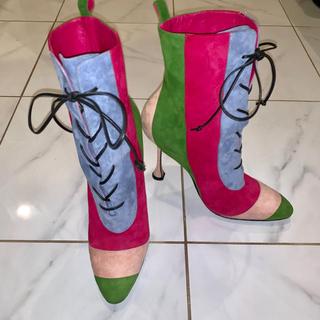 マノロブラニク(MANOLO BLAHNIK)のマノロブラニク  ショートブーツ(ブーツ)