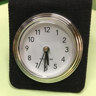 コーチ(COACH)のコーチ 置き時計(置時計)