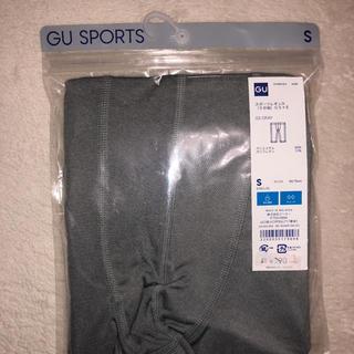 GU - スポーツレギンス グレーSサイズ