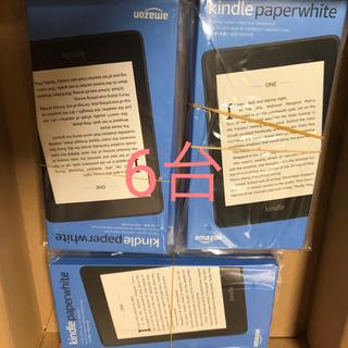 新品 まとめ売り kindle paperwhite 8GB 6個 キンドル(電子ブックリーダー)