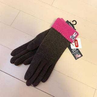 バーニーズニューヨーク(BARNEYS NEW YORK)の【新品】サイコバニー  手袋(手袋)