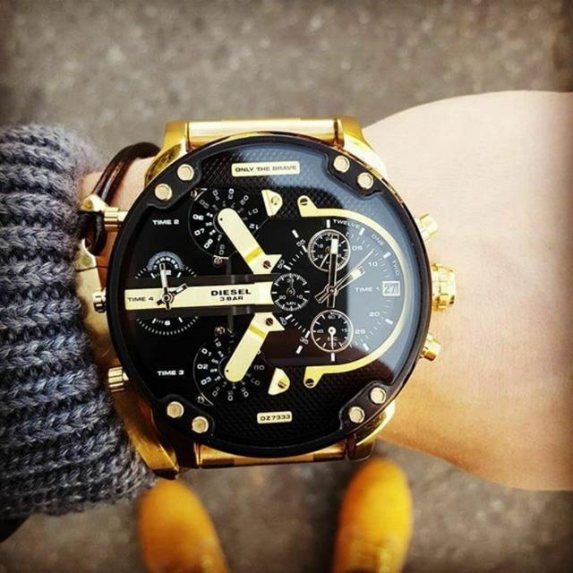 �ルシェデザイン 時計 �物 574 - DIESEL - ☆新�・未使用・��☆ DIESEL DZ7333 ディーゼル メンズ 腕時計�通販 by �ん��'s shop