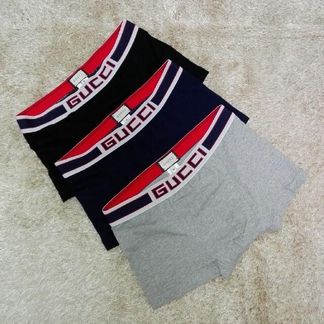 gucci 蝶 ピアス | Gucci - 【GUCCI】3点セット ボクサーパンツ Mサイズ グッチの通販 by さとじろ's shop