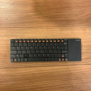 rapoo E2700 タッチパッド付きワイヤレスキーボード(PC周辺機器)
