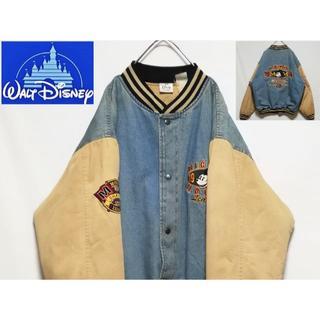 ディズニー(Disney)のディズニー ミッキー スタジャン ボンバージャケット(スタジャン)