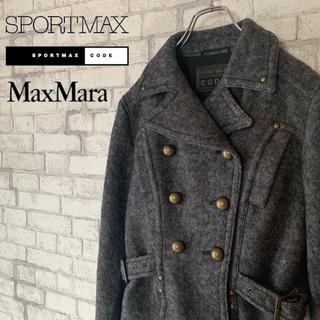 マックスマーラ(Max Mara)のSPORT MAX スポーツマックス/マックスマーラ ダブルジャケット (ピーコート)