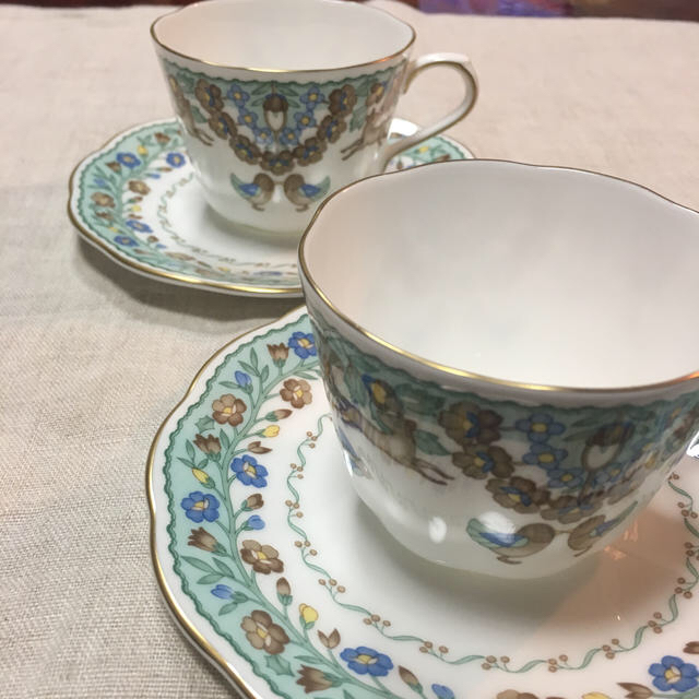 NIKKO(ニッコー)のコーヒーカップ 小ぶり 2客 インテリア/住まい/日用品のキッチン/食器(食器)の商品写真