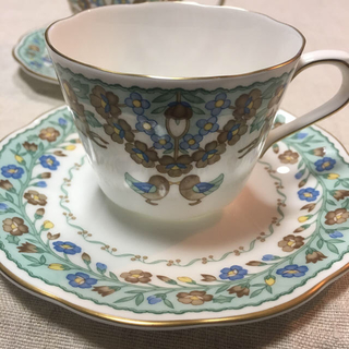 ニッコー(NIKKO)のコーヒーカップ 小ぶり 2客(食器)