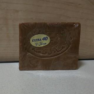 アレッポノセッケン(アレッポの石鹸)のアレッポの石鹸  EXTRA 40 オリーブオイルソープ 180g(ボディソープ/石鹸)