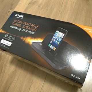 TAC3122N TDK ポータブルトラベルスピーカー iPhone対応(スピーカー)