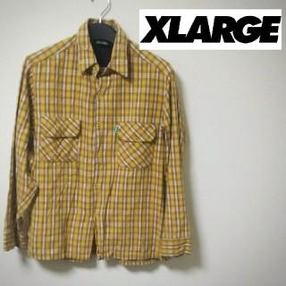 エクストララージ(XLARGE)のXLARGE チェックシャツ USA製(シャツ)