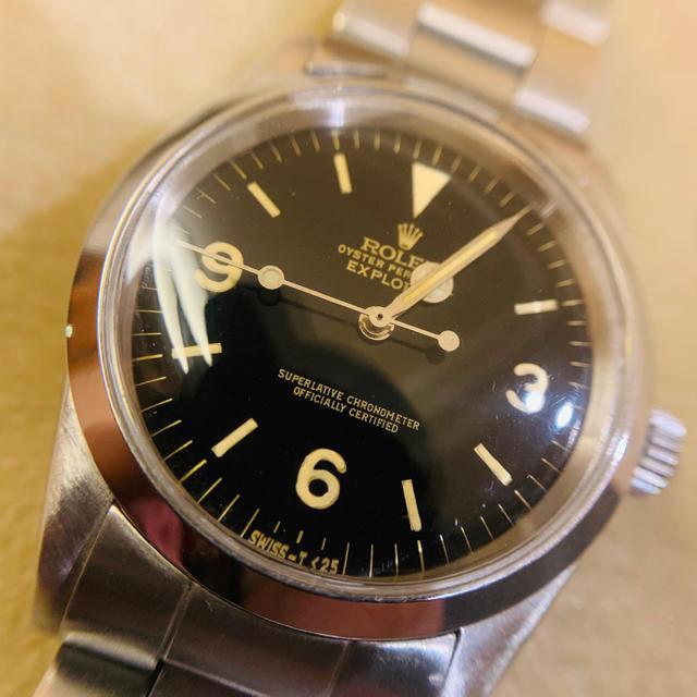 カルティエ 腕時計 新作 - ROLEX - ミラー文字盤1016 R番 社外ケース、部品一式の通販 by chibi1019's shop