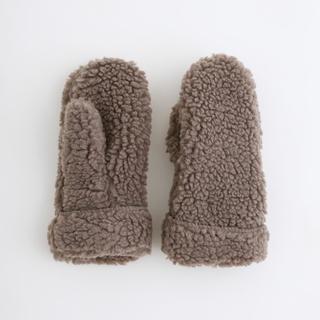 メルロー(merlot)のボアミトン(手袋)