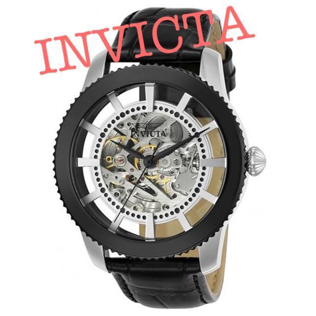 スーパーコピー エルメス 時計 メンズ - INVICTA - Invicta 自動巻き スケルトン ビンテージ 革ベルト 新品 未使用の通販 by Time machine's shop