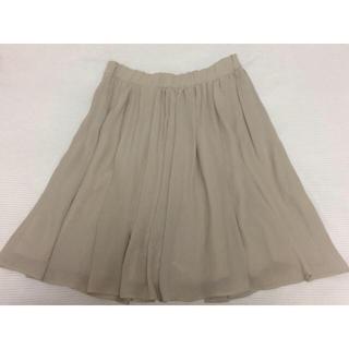 トゥモローランド(TOMORROWLAND)のRonnie Scott's シフォンスカート(ひざ丈スカート)