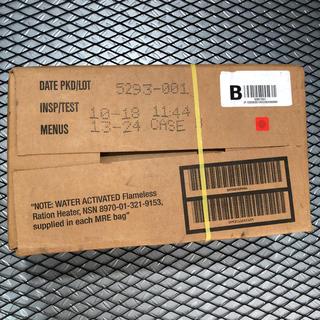 米軍実物 放出品 MREレーションBOX 12食入り 戦闘食 非常食 2(その他)