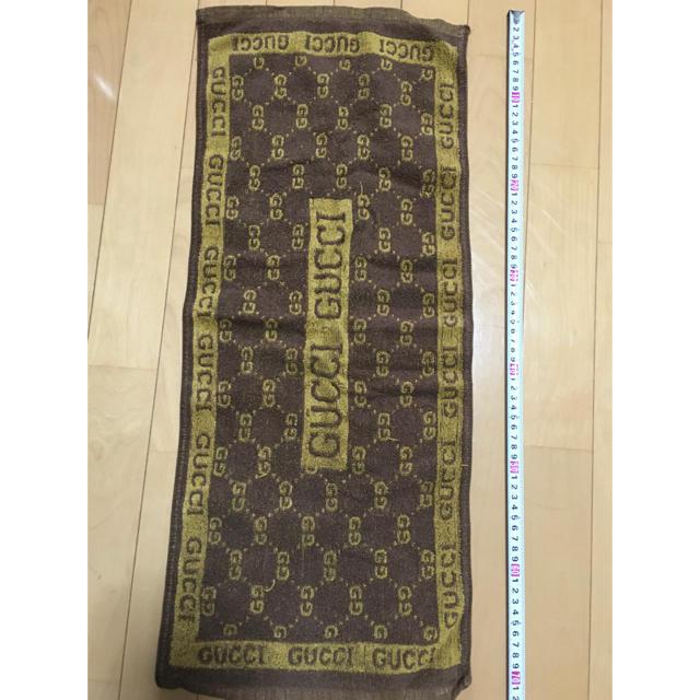 Gucci - GUCCI フェイスタオルの通販 by kmym0629's shop