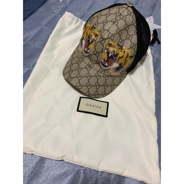 ヴィトン モノグラム 財布 偽物楽天 - Gucci - グッチ キャップ 帽子 虎 トラ タイガー ベースボールキャップの通販 by FORD