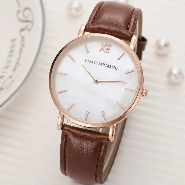 スカーゲン 時計 修理 、 【大人気】レディース 腕時計 ピンクゴールド ブラウン バンドの通販 by 横浜 雑貨 大特価