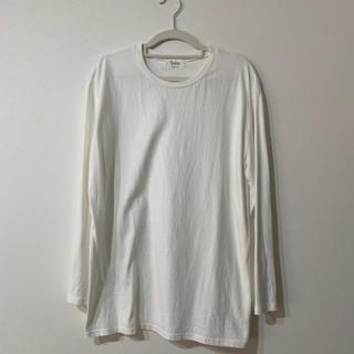 ゴゴシング(GOGOSING)のロンT カットソー 長袖 ソニョナラ gogosing ホワイト(Tシャツ(長袖/七分))
