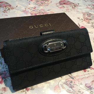 Gucci - 美品 GUCCI 長財布 男女兼用✨の通販