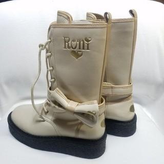 ロニィ(RONI)のロニィ RONI 美品ブーツ 24センチ(ブーツ)