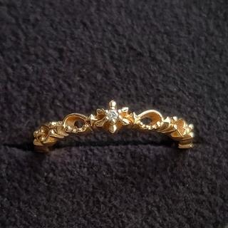 ノジェス(NOJESS)のNOJESS 限定 ダイヤモンドリング K10(リング(指輪))