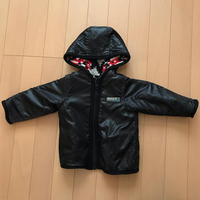 BREEZE(ブリーズ)のbreeze4way モッズコート キッズ/ベビー/マタニティのベビー服(~85cm)(ジャケット/コート)の商品写真