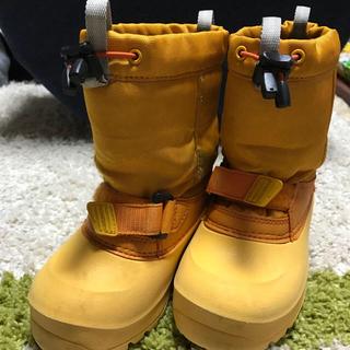 モンベル(mont bell)のオクラ様専用 モンベル スノーブーツ 15センチ(ブーツ)