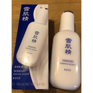 コーセー(KOSE)の雪肌精 エッセンシャルスフレ 美容乳液  新品未使用(乳液/ミルク)