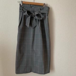 ハニーズ(HONEYS)のグレンチェックスカート(ひざ丈スカート)