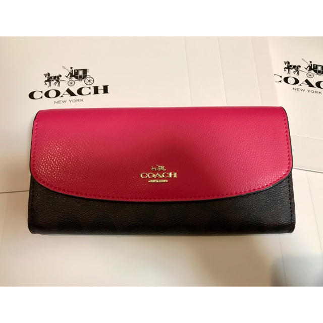 COACH - COACH シグネチャー F54022 長財布 ☆ エンベロープ の通販 by Candy's shop