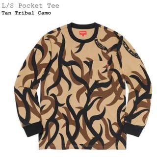 シュプリーム(Supreme)のSupreme 19aw L/S Pocket Tee Tribal Camo(Tシャツ/カットソー(七分/長袖))