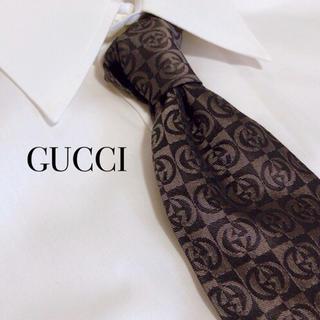 ヴィトン ベルト 偽物 見分け - Gucci - 美品 GUCCI グッチ GG柄 ロゴ ネクタイ 高級シルク 総柄 モノグラムの通販