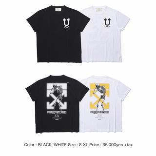 オフホワイト(OFF-WHITE)のoff-white undercover コラボtシャツLオフホワイト(Tシャツ/カットソー(半袖/袖なし))