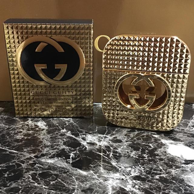 ヴィトン モノグラム 財布 偽物わからない 、 Gucci - GUCCI GUILTY〈スタット〉オードトワレ  50ml  ほぼ未使用‼️の通販 by マカロン's shop