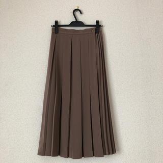 ナチュラルビューティーベーシック(NATURAL BEAUTY BASIC)のnatural beauty basic コンビプリーツスカート(ロングスカート)