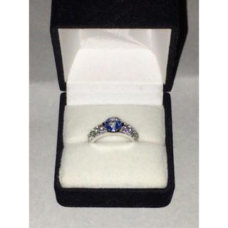 自然派工房 ブルー色が輝く指輪💍(リング(指輪))